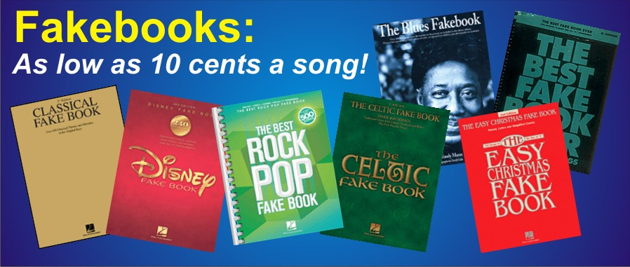 Fakebooks for all Instruments