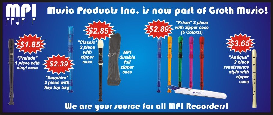 Recorders by MPI