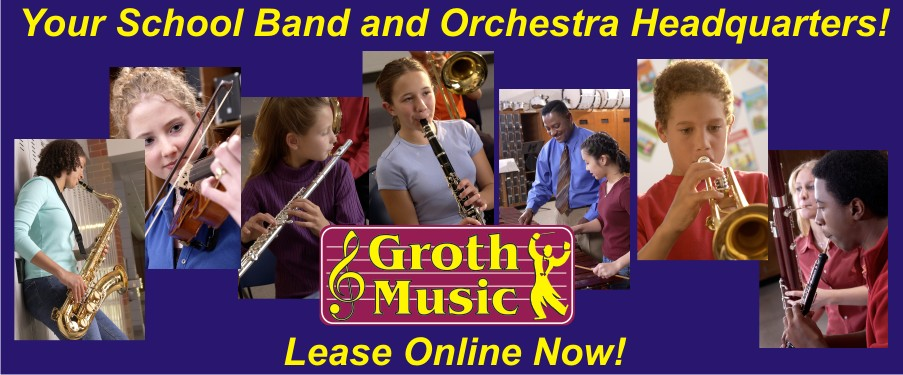 Online Rentals at Groth Music