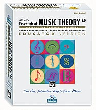 Alfred's Essentials of Music Theory Ver. 2 Vol 1 - Educator CD-ROM