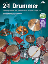 2 in 1 Drummer, The - Drumset/Hand Percussion/DVD
