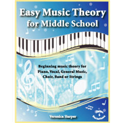 Easy Music Theory for Middle School - 5-pack