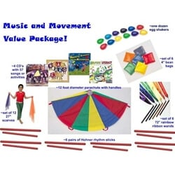 Classroom Music and Movement Value Pack