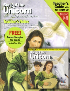 Classical Kids - Song of the Unicorn - Book & CD