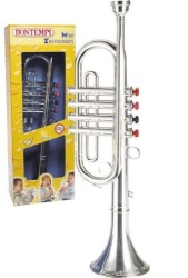 Groth music company bontempi toy trumpet silver bontempi toy trumpet silver sciox Choice Image
