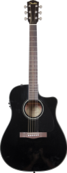 Fender CD60-CE, Black w/CASE