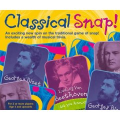 Classical Snap! Card Game