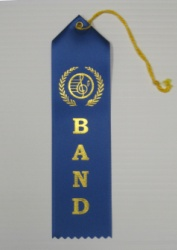 Band Ribbon Blue - 10 Pack