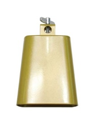 4.5 in Gold-Tone Cowbell