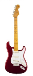 Fender Classic Series '50s Strat, Maple, Candy Apple Red w/Hard Case