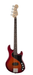 Fender Deluxe Dimension Bass IV, Rosewood, Aged Cherry Burst w/Gigbag
