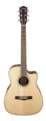 Fender CF-140SCE Folk, Natural Acoustic-Electric Guitar