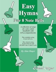Easy Hymns for 8 Note Bells Book & CD