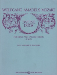 12 Duos, K. 487 - Oboe and English Horn