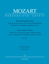 Alexander's Feast - Vocal Score