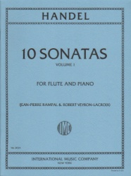 10 Sonatas, Volume 1 - Flute and Piano