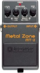BOSS MT-2 Metal Zone Distortion/Overdrive Guitar Pedal