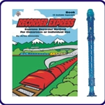 Blue Candy Apple Recorder & Recorder Express Book