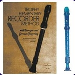 Blue Candy Apple Recorder & Trophy Recorder Book