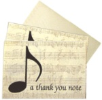 A Thank You Note Boxed Cards