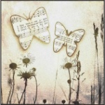 Butterfly Song II Plaque