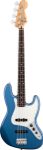 Fender Standard Jazz Bass, Rosewood, Lake Placid Blue, 3-Ply Parchment