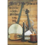 Music - Whether Joyful Wall Plaque