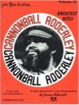 Jamey Aebersold Vol. 13: Cannonball Adderley (Bk/CD)