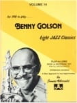 Jamey Aebersold Vol. 14: Benny Golson (Bk/CD)