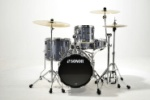 Sonor Safari 4pc Shell Pack Black Galaxy Sparkle