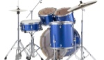 Pearl Export EXX 5 Piece Drum Set - Electric Blue Sparkle