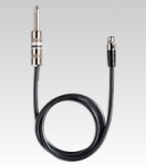 "Shure WA302 Wireless 2.5' TA4F 1/4"" Guitar Cable"