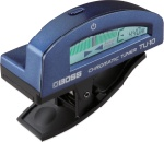 BOSS TU-10-BU Clip-On Chromatic Tuner - Blue