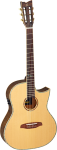 Ortega OPAL-NY-AGB Thinline Classical A/E Guitar  w/Gig Bag