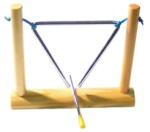 Maxtone 6 Inch Triangle with Stand and Beater