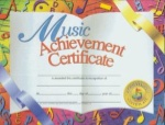 Music Achievement Certificates VA636