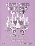 Church Songs for 13 Note Handbells Book & CD