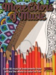 More Colors of Music Coloring Book