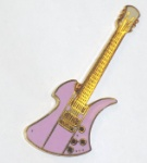 BC Rich Mockingbird Guitar Pin - Pink