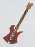 BC Rich Mockingbird Bass Pin - Red