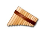 FP-12 Gibonus 12 Note Pan Flute - Key of C