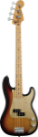 Fender '50s Precision Bass, Maple, 2-Color Sunburst w/Bag