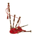 Mid-East BAGC Full Size Rosewood Bagpipes