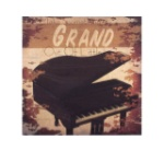 Grand Piano Canvas Picture