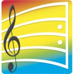 Musical Notes Note Pad