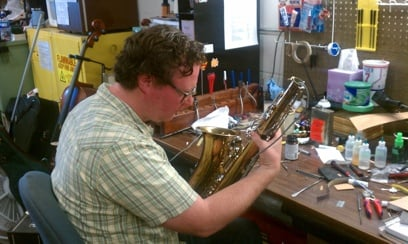 Joshua Davis Brass and Woodwind Repair Technician