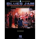 Blues Jam: 40 Progressions and Grooves - Book and Audio Access