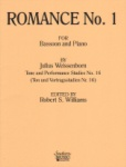 Romance No. 1 (Op. 10 No. 2) - Bassoon and Piano