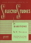 Selected Studies for Baritone Bass Clef