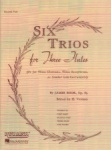 6 Trios for Three Flutes (or Violins), Op. 83 - Second Flute Part